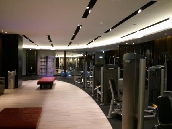 Gym at Hilton Bomonti in Istanbul