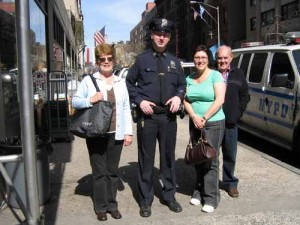 Friendly NYPD Cop - Always willing to comply with a photo opportunity
