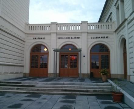 Bayerischer Bahnhof Main Entrance