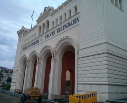 Bayerischer Bahnhof Side View