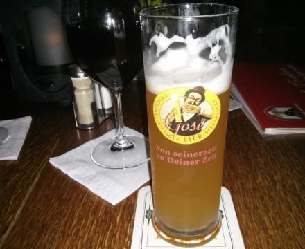 Bayerischer  Bahnhof Locally Brewed Gose Beer