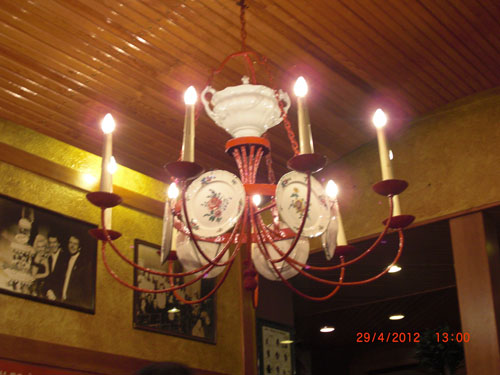 Chez Leon Lighting Decoration