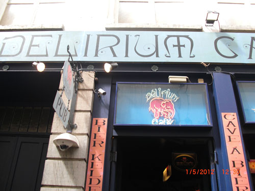 Delirium Cafe Entrance