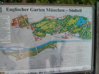 Englischer Garten Map