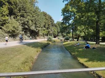 Englisher Garten River