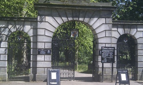 Kings College Back Gate