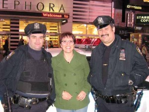 More friendly and sociable NYPD Police Men